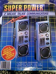 VINTAGE WALKIE TALKIE SET MORSE CODE 1970/1980S