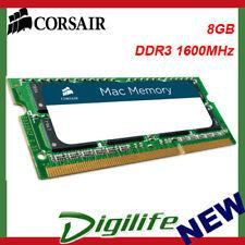 Corsair 8GB (1x 8GB) DDR3 1600MHz SODIMM Memory for Mac CMSA8GX3M1A1600C11