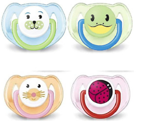Philips Avent Animal Soother Dummy Twin Pack 6-18m