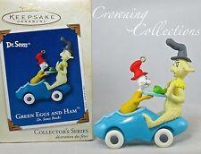 2002 Hallmark Green Eggs and Ham Keepsake Ornament Dr. Seuss Book 6th Series #6