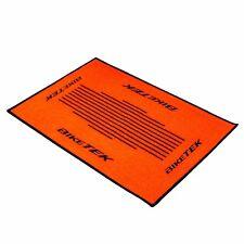 Motorrad Fußmatte Orange Teppich Fussmatte Türmatte Schmutzmatte Fussabtreter