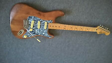 Mexican fender stratocaster electric guitar relic, luthier, modification 2002
