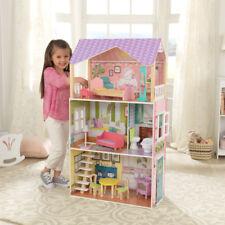 NEW KidKraft Poppy Dollhouse Wooden Girls Doll House Pretend Play Barbie 65959