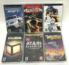 Lot of 6 Great PSP Games! All Complete in Box With Manual!