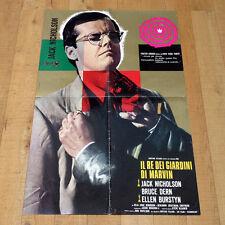 IL RE DEI GIARDINI DI MARVIN manifesto poster Jack Nicholson Bruce Dern Gardens