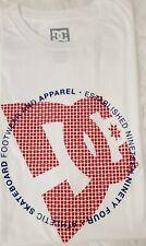 Dc Athletic Skateboard Footwear Apparel Est 1994 - Fourtex White Men's T-shirt L