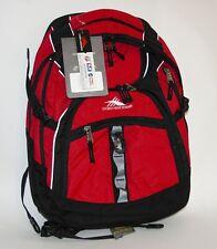 High Sierra Access Backpack / Red w/ Black Trim