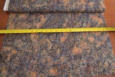 By 1/2 Yd, Brown & Black Batik, Indonesia, Hoffman/S-2347-365 Tavarua, B516