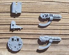 40K Space Marines Land Raider Crusader Assault Cannon Turret Bits