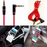 NEW Replacement Red L Shape 3.5mm Audio Cable Cord for Beats Pro Solo Studio HD