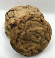 Freshly Baked, Homemade Organic Chocolate Chip Cookies (Qty. 3)