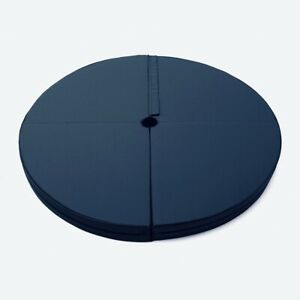 Pole Dance Mat Skid-proof Fitness Waterproof Thickened Round Exercise 120x10cm