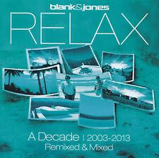 BLANK & JONES - 2 CD - RELAX - A DECADE 2003-2013 Remixed & Mixed