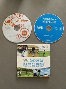 Nintendo Wii Sports and Wii Play Bundle Tested And Working