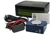 TRACKER LOCALIZZATORE ANTIFURTO SATELLITARE GPS GSM GOOGLE LINK BATTERIA 15gg