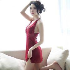 AU SELLER Women's Sexy Lingerie Lace Babydoll G-String Dress Underwear Nightwear