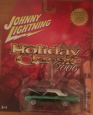 Johnny Lightning Holiday Classic 2006 ornaments 1969 Chevy Impala convertible
