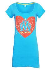 Para mujer Talla 12 Olympique MARSEILLE Noche Vestido Camisón Pijamas Camiseta De Fútbol