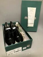 Me Too Black Leather Lace Up Oxford Heel Shoes with Stretcher Sz 5.5M NEW w/ Box