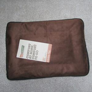 "BIG SHRIMPY Dog Bed - Crate Mat - Landing Pad - Small  17"" x 23"" -Colour Truffle"