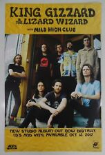 "King Gizzard and the Lizard w/Mild Hig* Promo Poster * 11"" x 17"" - FREE SHIPPING"