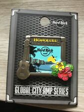 HARD ROCK CAFE HONOLULU GLOBAL CITY AMP SERIE PIN
