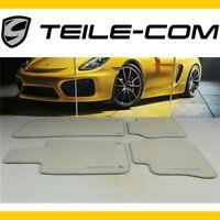 -10% ORIG. Porsche Cayenne 958 Fussmatten Satz Velours Platingrau /Floor mat set