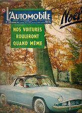 L'AUTOMOBILE 128 1956 VOLVO 444 CITR 2CV DAGONET TOUR DE CORSE AERMACCHI ZEFFIRO