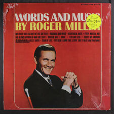 ROGER MILLER: Words And Music LP (shrink, drill holes) Country