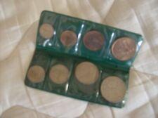 8 Coins of Ireland in plastic case - 1959-1960's