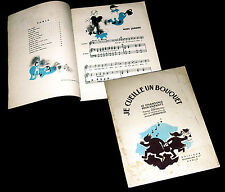 je cueille un bouquet 12 chansons pour enfants 1944 Renée Droniou