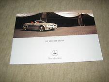 Mercedes SLK Klasse R171 Prospekt brochure von 1/2004, 24 Seiten