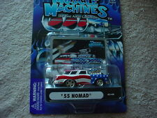 MUSCLE MACHINES USA TRIBUTE '55 NOMAD 03-48 BLOWN MIP FREE USA SHIPPING