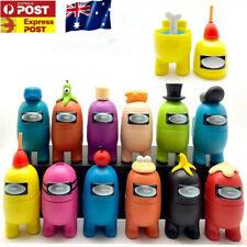 AU Kids Gift 12PCS Large Among Us Game PVC Action Figure Separable Toy Playset