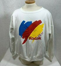 Vintage KODAK FILM Crewneck Sweatshirt One Size Unisex White