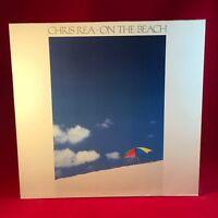 CHRIS REA On The Beach 1986  UK Vinyl LP + INNER EXCELLENT CONDITION  B