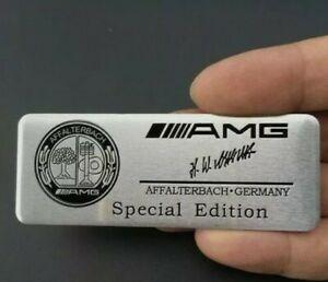 AMG Special Edition Logo Emblem Multimedia Badge Sticker Aufkleber Mercedes