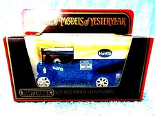 MATCHBOX MODELS OF YESTERYEAR Y27 1922 FODEN STEAM LORRY [HOVIS]