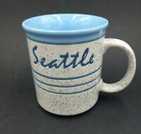 Vintage Seattle Mug Made In Japan Confetti Pattern coffee cup tea