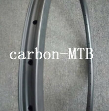 30mm Width Mountain Bike Rim Carbon MTB Rim Tubeless bicycle rim 30mm depth rim