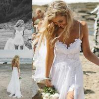 Spitze Tüll Brautkleid Hochzeitskleid Kleid für Braut Ballkleid weiß 38 BC485