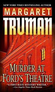 Murder at Ford's Theatre -Margaret Truman Fiction Novel Book Aus Stock