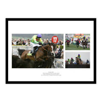 Kauto Star Montage Horse Racing Legends Photo Memorabilia (KSMU01)