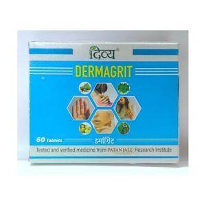 Patanjali Divya Dermagrit 60 Tabs, Skin, Itching, Rashes Etc