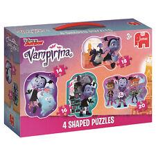NEW! Jumbo Games Disney Vampirina 4 shaped jigsaw puzzle set Age 3+ 19627
