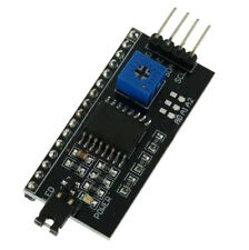 IIC I2C TWI SPI Schnittstelle Kartenmodul PCF8574T fuer Arduino 1602 LCD 20 M6W6