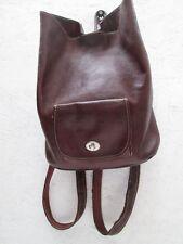 -AUTHENTIQUE  sac à dos KESSLORD  cuir   TBEG vintage bag