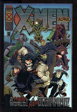 X-Men Alpha (1995) #1 First Print Start of Age of Apocalypse Chromium Cover Nm-