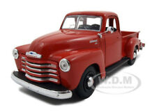 1950 CHEVROLET 3100 PICKUP TRUCK OMAHA ORANGE 1:25 MODEL CAR BY MAISTO 31952