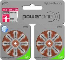 16 x Powerone P312 Pile Batterie per Apparecchi Acustici Hearing Aid Batteries